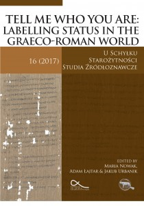 Tell me who you are: Labelling status in the Graeco-Roman world
